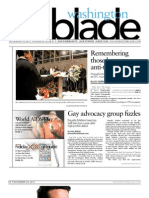 washingtonblade.com - volume 42, issue 47 - november 25, 2011