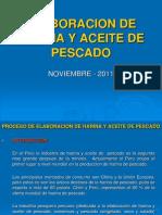 Resumen Proceso Elaboracion Harina y Aceite de Pescado