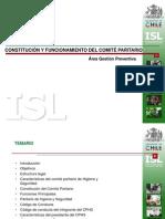Constitución y Funcionamiento del comité Paritario ISL