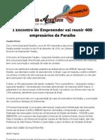 I Encontro do Empreender vai reunir 400 empresários da Paraíba