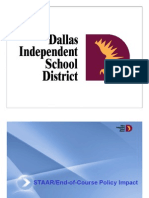 STAAR End-of-Course Policy Impact