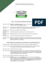 2012_Presidential Preference Primary Calendar