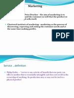 Services Marketing
