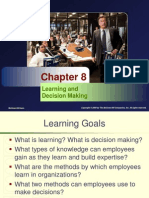Chapter8 Learning and Decision Making