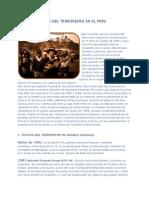 La Historia Del Terrorismo en El Peru