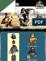 LEGO Light Saber Duel Instruction Manual 7101