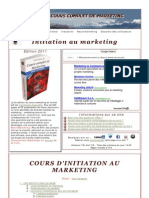 Cours Complet de Marketing - Intro
