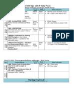 chembridge-unit4-schedule-student version - fall 2011