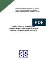 DISEÑO CURRICULAR BASADO EN COMPETENCIAS Y ASEGURAMIENTO DE LA CALIDAD EN LA EDUCAION SUPERIOR