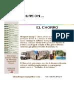De Excursion Al Chorro