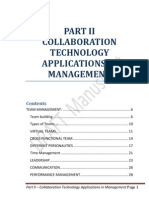 PART II - Collaboration Technology Applications in Management