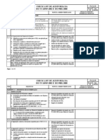 ISO TS 16949 2002 - Check List de Auditoria