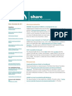 Shadac Share News 2011nov28