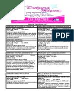 Calendario de talleres y seminarios para Enero, Febrero y marzo 2012