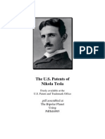 Complete Patents Nikola Tesla