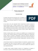 Documento Comitato Centrale Fiom-Cgil
