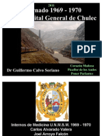 Internado en el Hospital General de Chulec - La Oroya 1969 - 1970