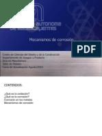 Mecanismos de Corrosion