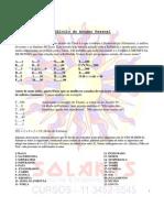 C+üLCULO DO ARCANO PESSOAL