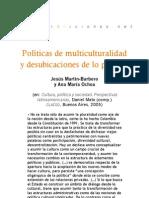 Políticas de multiculturalidad y desubicaciones de lo popular