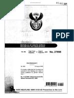 IGR Framework Act 13 of 2005