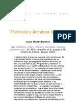 Televisión y literatura nacional