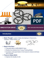 Innovation Drive (First Year Execution Strategy)