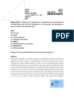 2nd M. P. Planning 2011-2012
