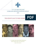 City of New Orleans Homeless Services Working Group Ten-Year Plan to End Homelessness