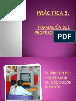 Práctica 5 Formación del profesorado en TIC