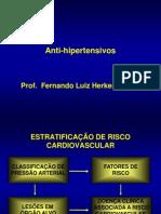 Aula Fernando - Antihipertensivos e tratamento da hipertensão