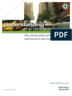 NSC White Paper - Distracted Driving 3-10