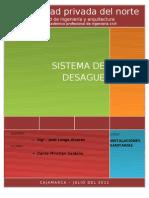 Informe - Instalaciones de Desague