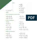 fraçoes algebricas