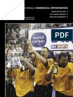 2009 Sponsorship Brochure