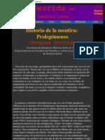 Derrida en castellano - Historia de la mentira_ Prolegómenos