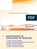 CONTRATACIONES PÚBLICAS EXITOSAS 2 de 2