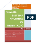 Sistema Nacional de Orientacion Venezuela
