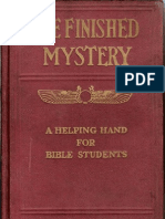 The Finished Mystery 1918ed 4