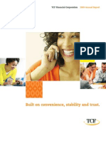 TCF Annual Report 2009 (2010)