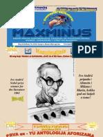 Broj 21. i 22...No 21. and 22...MaxMinus magazin