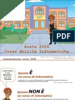 Presentazione corso Abilita' informatiche