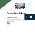 1. Función Base de Datos