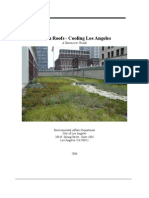 California; Green Roofs - Cooling Los Angeles