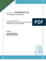 Redes Inalambricas - COM1