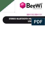 BBH100 BBH101 Multilingual User Manual