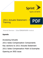 2011 Actuate Training (SVC)
