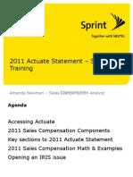 2011 Actuate Training (SVC)