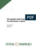 Rapporto BIIS - Gli Equilibri Delle Finanze Locali Fra Autonomie e Regole
