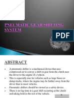 Pneumatic Gear Shifting System